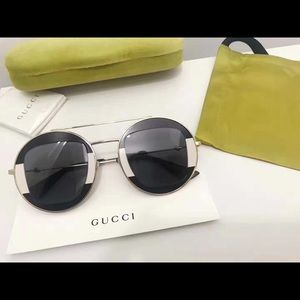 gucci urban round sunglasses